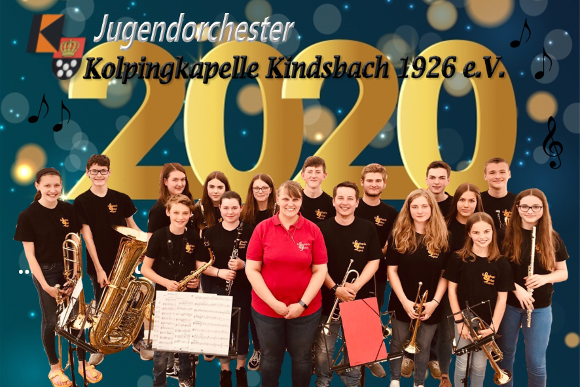 Jugendorchester der Kolpingkapelle Kindsbach 2020